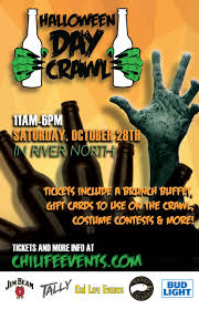 2017 halloween day crawl sat oct 28th in river north chicago