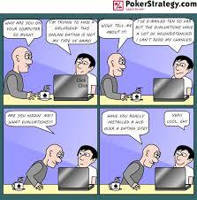 News  Poker Cartoon   Dating Online PokerStrategy com