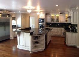 White Kitchen Cabinets With Black Granite Countertops by Cabinets U0026 Drawer White Vintage Kitchen Cabinet Black Granite