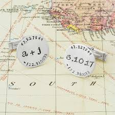 Lat Long Map Latitude Longitude Bracelet Personalized Silver Bracelet
