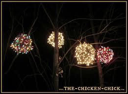 the chicken chicken wire lighted christmas balls u0027tis