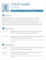 Ms Word Sample Resume by Basic Chronological Download Simple Resume Sample Sample