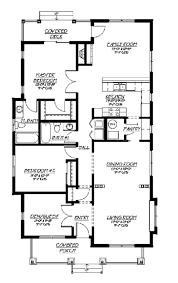 2000 Sq Ft Bungalow Floor Plans Bungalow Style House Plan 3 Beds 2 Baths 1500 Sq Ft Plan 422 28