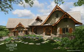 springs cottage house plan gable country farmhouse southern