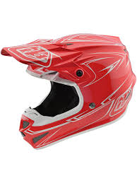 troy lee designs motocross helmet troy lee designs red 2018 se4 pinstripe polyacrylite mx helmet ebay