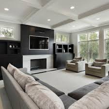 Best Contemporary Fireplaces Images On Pinterest Contemporary - Contemporary family room design