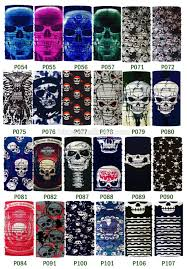 ghost half mask custom multi function bandana tube seamless uk pakistan usa china