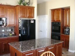 Paint Colors For Kitchen Walls With Oak Cabinets Kitchen Kitchen Color Ideas With Oak Cabinets And Black