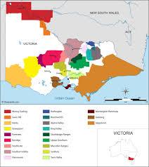 Map Of Italy Regions by Australia Map Of Vineyards Wine Regions