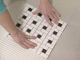 Bathroom Tile Installation by Flooring Vintage Ceramic Mosaic Floor Tile Seamless Pattern