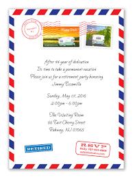 Retirement Function Invitation Card Post Office Retirement Party Invitation Sharon O U0027harren