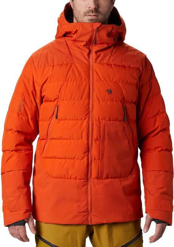 Mountain Hardwear Direct North Gore Windstopper Down Jacket Haze Orange Extra Large 1851271866-XL
