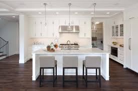 Stainless Steel Kitchen Pendant Light by White Kitchen Island Design Ideas Come With White Marble