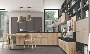 immagina kitchen designs by cucine lube integrating the living