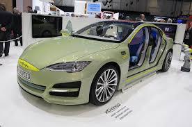 rinspeed rinspeed xchange concept is a tesla model s based autonomous car