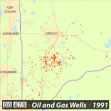 Southern Colorado Map by Maps Watch Oil And Gas Wells Spread Across Colorado Cpr