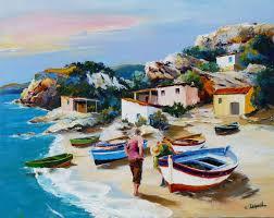 peinture de bord de mer galerie tableaux artiste peintre des marines christian jequel