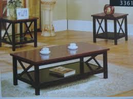 modern wood and glass coffee table coffee tables ideas modern coffee table and end table set ashley