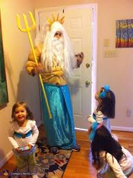 King Neptune Halloween Costume Sea Family Halloween Costume Photo 5 7