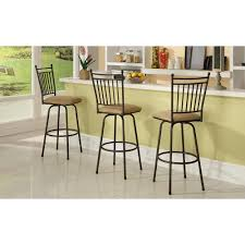 Brown Dining Room Table Linon Home Decor Bar Stools Kitchen U0026 Dining Room Furniture
