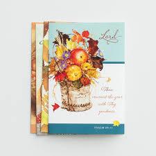 greeting for thanksgiving thanksgiving thanking god 12 boxed cards kjv dayspring