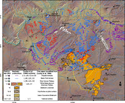 Colorado Unit Map by Cenozoic Incision History Of The Little Colorado River Its Role
