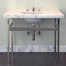 opus metal square four leg single washstand 34 1 4