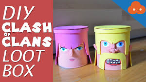Youtube Home Decor by Diy Clash Of Clans Loot Box Money Bank Youtube Iranews Home
