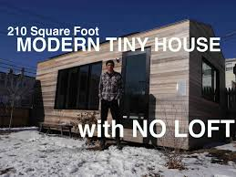 brian levy u0027s 210 square foot modern tiny house with no loft