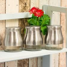 20 glass kitchen canister set modern red plastic glass tea