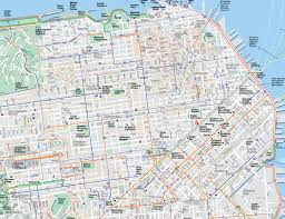 Sf Metro Map by Large San Francisco Maps For Free Download And Print High