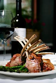 lamb and wine