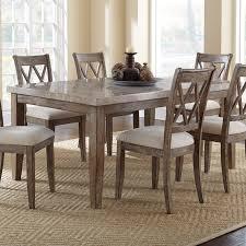 Steve Silver Dining Room Furniture Steve Silver Monarch Marble Top Dining Table Hayneedle