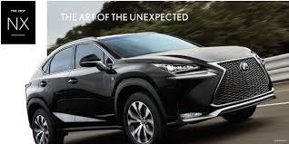 lexus usa lease specials 2017 lexus nx buy or lease a new lexus near conshohocken pa