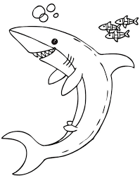printable shark coloring pages animal coloring pages of