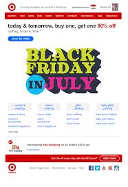 target july black friday black friday email campaigns listrak insights retail marketing