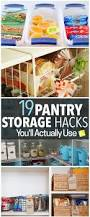 Cheap Kitchen Organization Ideas Best 25 Food Storage Organization Ideas Only On Pinterest