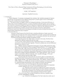 APA Style Research Papers  Example of Format and Outline Sample Research