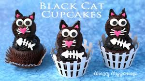 Fun Halloween Cakes Black Cat Cupcakes Fun Halloween Treats Youtube