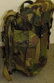 Kelty Map 3500 Webbingbabel Dutch Army Combat Backpack M 94 Gevechts Rugzak Kl