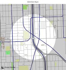Chicago Line Map by Map Of Building Projects Properties And Businesses Near The 63rd