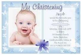 Happy Birthday Invitation Card Template Excellent Invitation Card For Baptism Of Baby Boy 11 In Samples Of