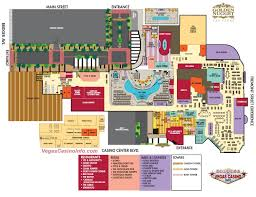 Vegas Monorail Map Map Of Golden Nugget Las Vegas Virginia Map