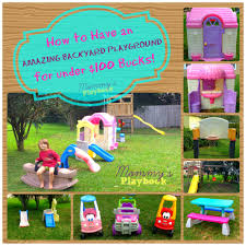 cheap backyard play area mommy u0027s playbook