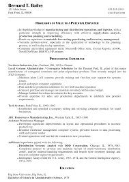 Sample Resume Of Office Administrator by Download Linux System Administration Sample Resume