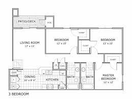 3 Bedroom Apartment Floor Plan Springfield Mo Apartments Coryell Crossing