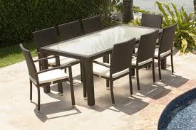 source outdoor zen 8 seat dining table