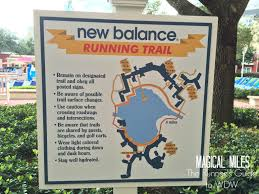 Port Orleans Riverside Map New Balance Running Trails At Walt Disney World The Runner U0027s