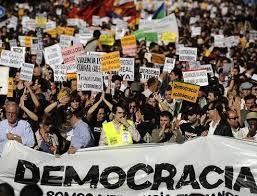 Indignés dans Espagne
