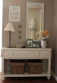 White Entryway Table by Decoration Wonderful Foyer Decorating With Excellent Table And